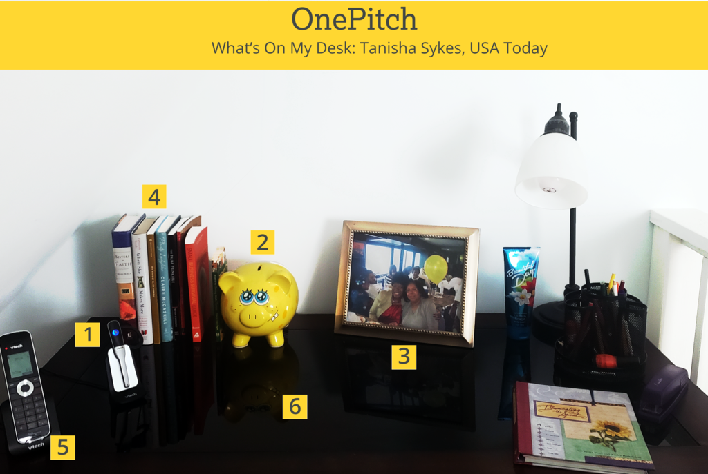 What's On My Desk - Tanisha Sykes, USA Today