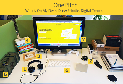 What's On My Desk - Drew Prindle, Digital Trends