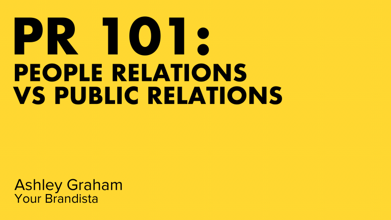 People Relations vs Public Relations