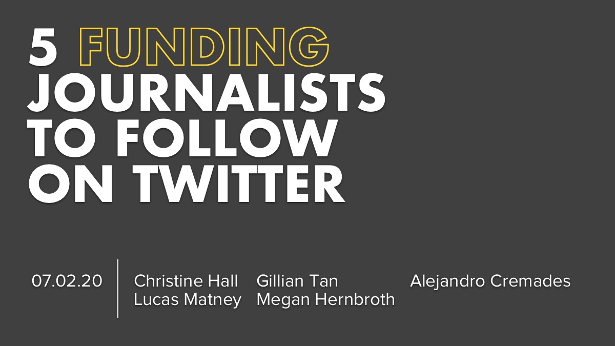 5 Funding Journalist To Follow On Twitter