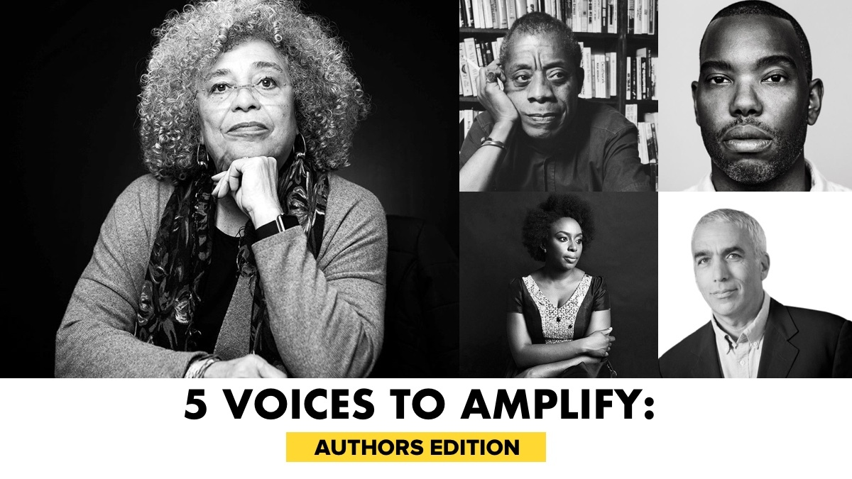 5 Voices To Amplify: Authors Edition