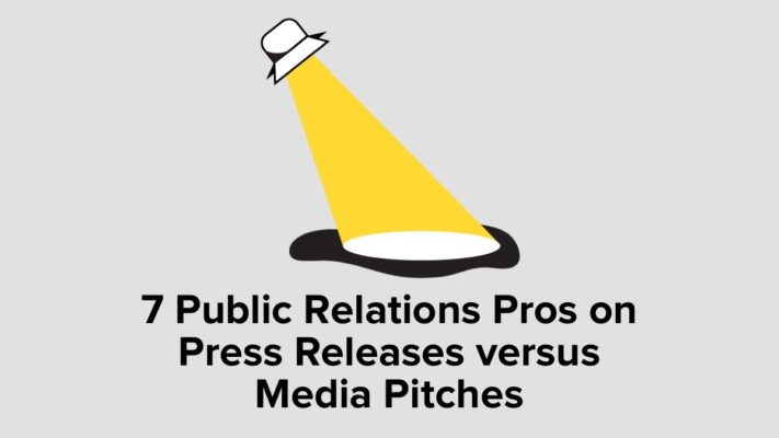 Press Releases Versus Media Pitches