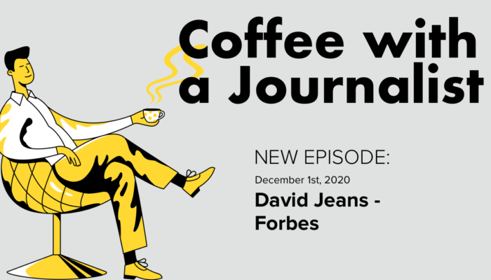 Coffee With A Journalist - David Jeans, Forbes