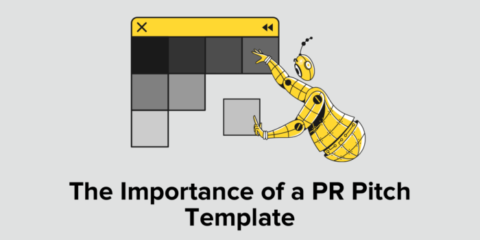 PR Pitch Template