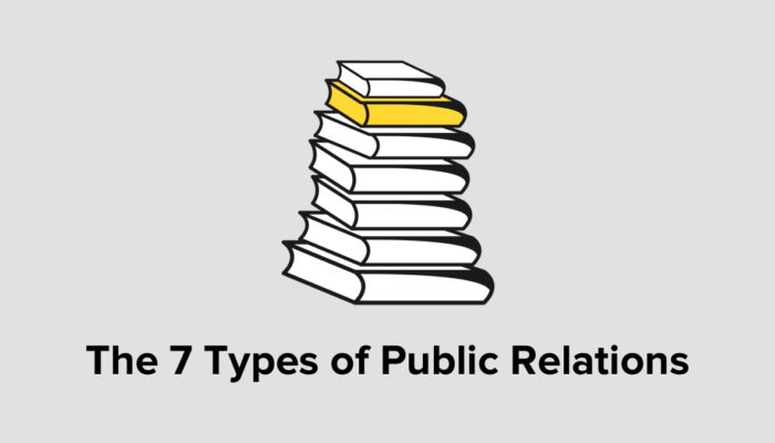 The 7 Types Of Public Relations