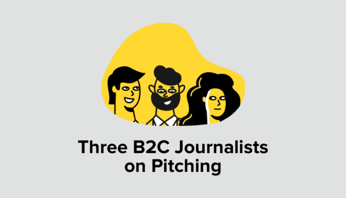 3 B2C Journalists On Pitching