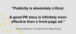 Richard Branson Public Relations Quote