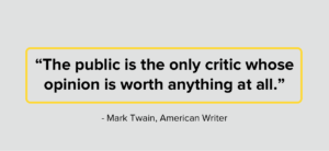 Mark Twain Public Relations Quote
