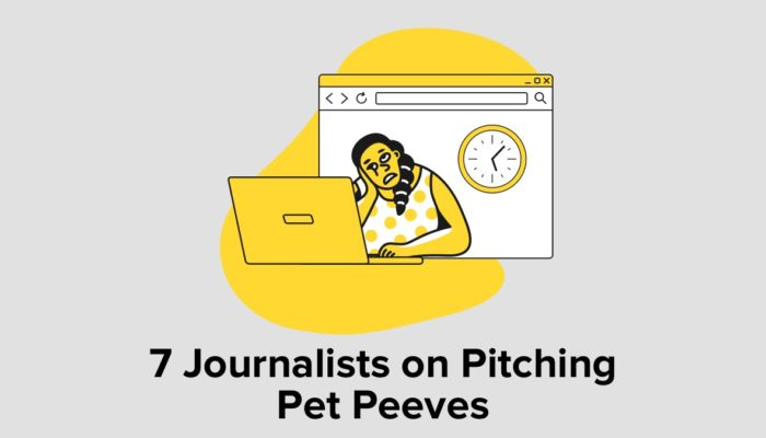 7 Journalists On Pitching Pet Peeves