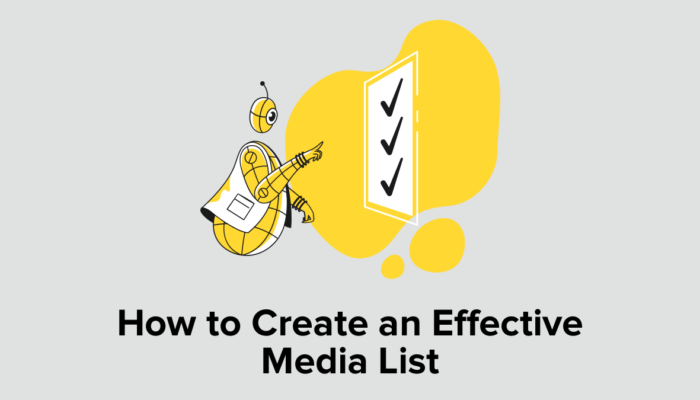 How To Create An Effective Media List