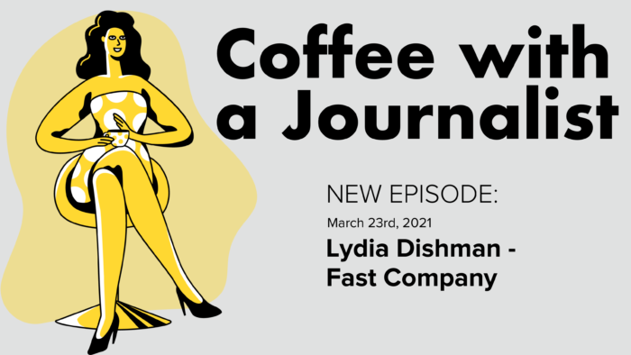 Coffee With A Journalist: Lydia Dishman, Fast Company
