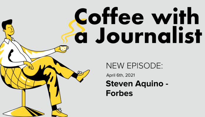 Coffee With A Journalist: Steven Aquino, Forbes