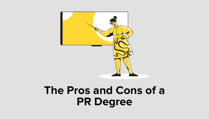 The Pros And Cons Of A PR Degree