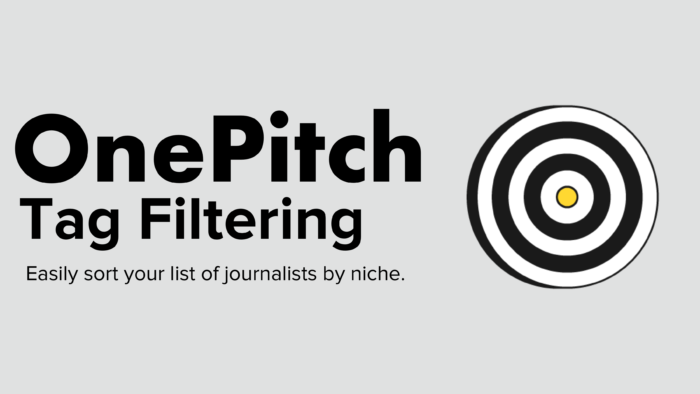 OnePitch Tag Filtering