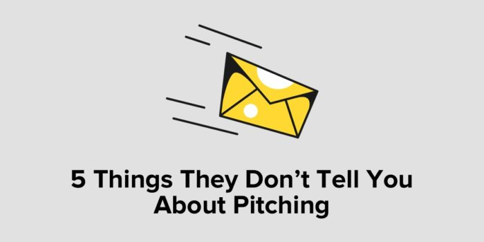 5 Things They Don't Tell You About Pitching