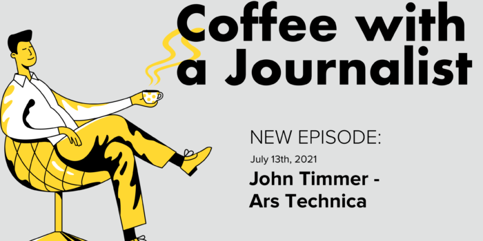 Coffee With A Journalist: John Timmer, Ars Technica
