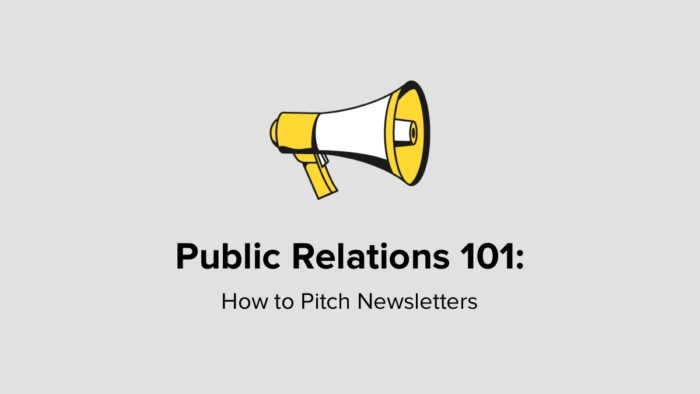 How To Pitch Newsletters
