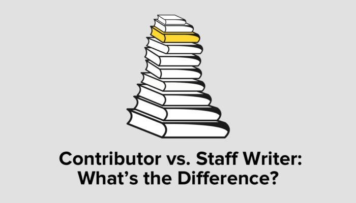 Contributor Vs. Staff Writer: What's The Difference?