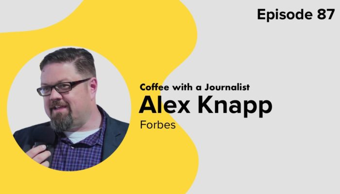 Coffee With A Journalist: Alex Knapp, Forbes