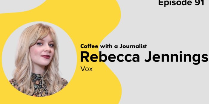 Coffee With A Journalist: Rebecca Jennings, Vox