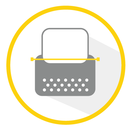 OnePitch logo typewritter